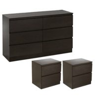 Rent to own Chanelle Bedside Set