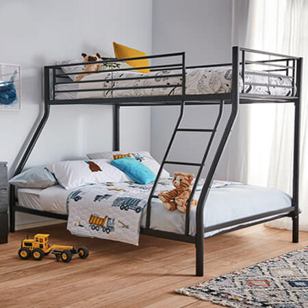 Rent to own bobby triple bunk bed