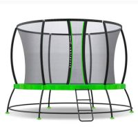 rent to own springless trampoline detail