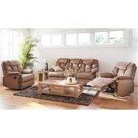 Rent to own Leman 3 seater with 2 reclining armchairs