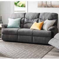 Rent to own Miles 3 seater Fabric recliner