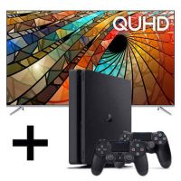 rent to own Tv & Playstation 4 Bundle