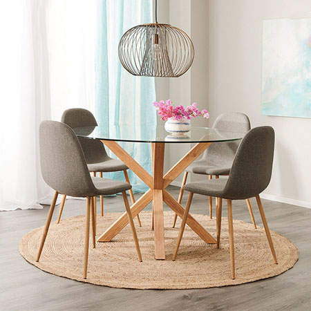 Rent to own Zaria Dining Set