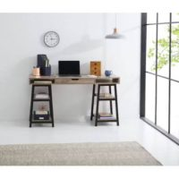 rent to own Trestle Desk with Storage